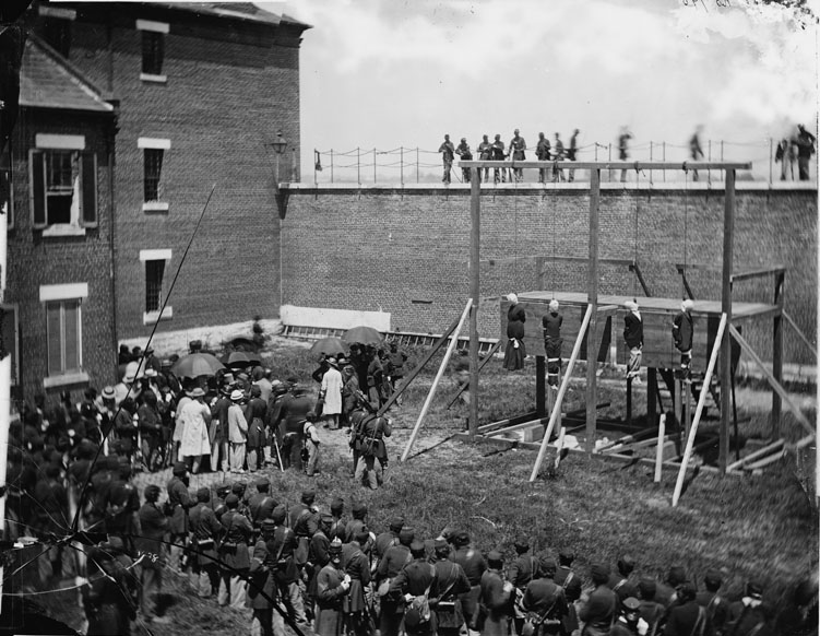 Alexander Gardner - The Hanging of the Lincoln Conspirators