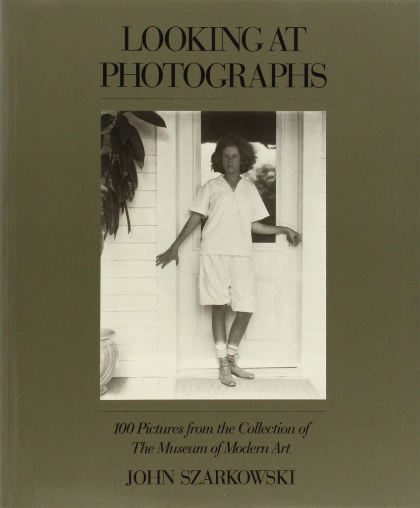 history of photography podcast podcasts class lectures and looking at photographs by john szarkowski book jacket image